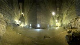 Cacerola de la sal de Slanic Prahova Fotografía de archivo libre de regalías