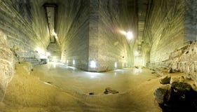 Cacerola de la sal de Slanic Prahova Foto de archivo libre de regalías