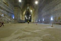 Cacerola de la sal de Slanic Prahova Fotos de archivo libres de regalías