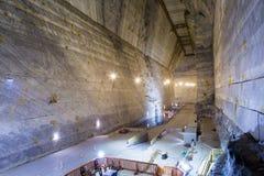 Cacerola de la sal de Slanic Prahova Fotos de archivo