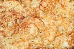 Cacerola de patatas Foto de archivo libre de regalías