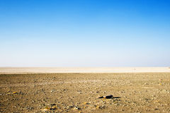 Cacerola de Sowa en Botswana Foto de archivo