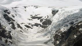 Cacerola del glaciar de Pasterze almacen de metraje de vídeo