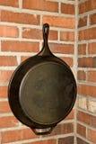 Cacerola grande del hierro de Rod Imagen de archivo libre de regalías