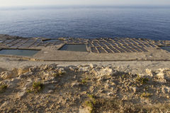 Cacerolas de la sal Imagen de archivo