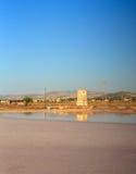 Cacerolas de la sal, Trapan Imagenes de archivo