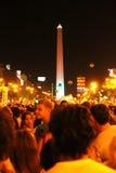 Cacerolazo Demonstation в Buenos Aires Стоковые Фотографии RF