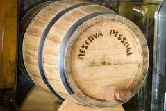 Cachaça barrel Royalty Free Stock Image