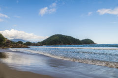 Cachadaco Beach in Brazil stock images