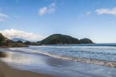 Cachadaco strand i Brasilien arkivbilder