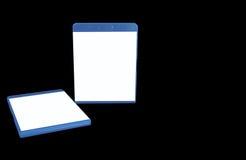 cache 2 de Bleu-rayon Photographie stock