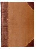 Cache blanc d'un vieux livre images libres de droits