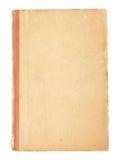 Cache blanc d'un vieux livre de cru photographie stock