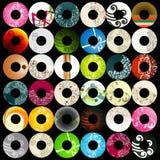 Cache cd réglé 36 Images stock