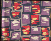 Cache coloré Image stock
