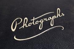 Cache d'album Photographie stock libre de droits