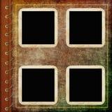 Cache d'album avec la trame Illustration Stock