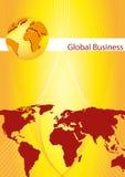 Cache de brochure - carte de visite professionnelle de visite illustration libre de droits
