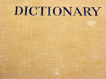 Cache de dictionnaire photos libres de droits