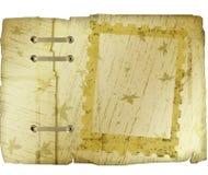 Cache de livre avec des conceptions d'automne Images libres de droits