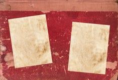 Cache de livre avec le papier photos libres de droits