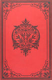 Cache de livre de cru Image stock