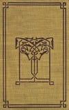 Cache de livre de cru avec la garniture décorative photos libres de droits