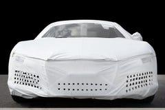 Cache de protection de véhicule photo stock