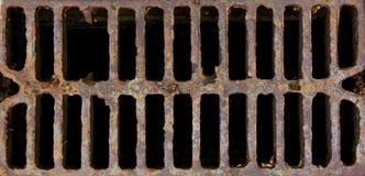 Cache de trou d'homme de réseau Photos libres de droits