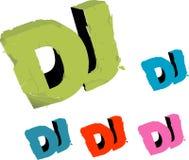 cache DJ Photographie stock libre de droits