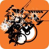 cache DJ Image libre de droits