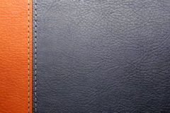 Cache en cuir du livre images stock