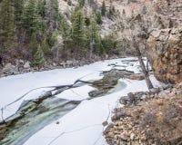 Cache la Poudre River Royalty Free Stock Images