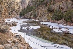 Cache la Poudre River Stock Image