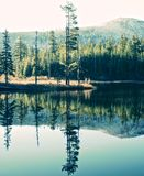 Cache Reflection Royalty Free Stock Photography