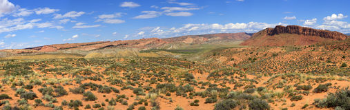 Cache Valley in Arches National Park Stock Image