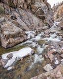 Cachela Poudre Fluss stockbilder