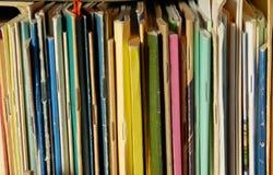 Caches de livre colorés Images stock