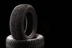 Caches de pneu Photo stock