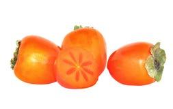 Cachi freschi ricchi antiossidanti Fotografia Stock Libera da Diritti