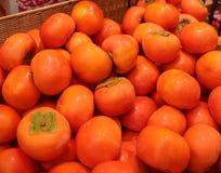 Cachi giapponese Shibugaki della frutta Immagine Stock Libera da Diritti