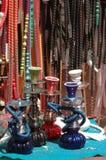 Cachimbas en Eilat Imagen de archivo libre de regalías