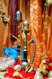 Cachimbo de água árabe Imagem de Stock