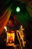 Cachimbo de água da barra da sala de estar Foto de Stock Royalty Free
