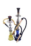 Cachimbo de água do árabe dois Imagens de Stock Royalty Free