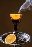 Cachimbo de água do aroma do fruto fotografia de stock royalty free