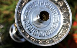 Cachimbo de água no piquenique exterior Imagem de Stock