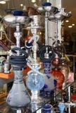 Cachimbos de água árabes imagens de stock