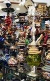 Cachimbos de água árabes Fotos de Stock Royalty Free