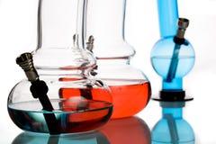 Cachimbos de água Multicoloured Foto de Stock